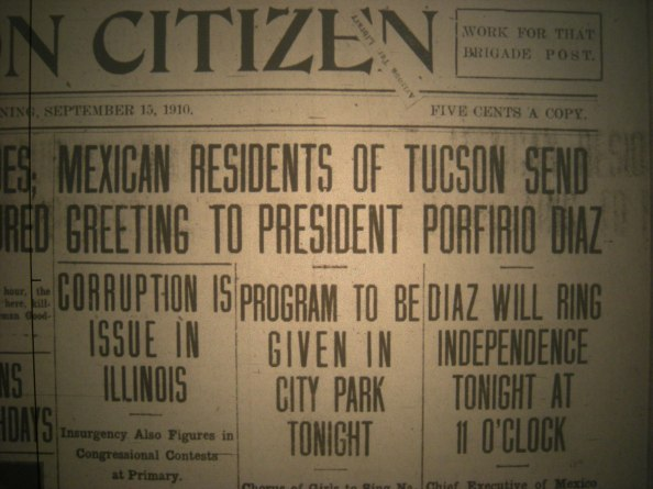 The Tucson Citizen, September 15, 1910